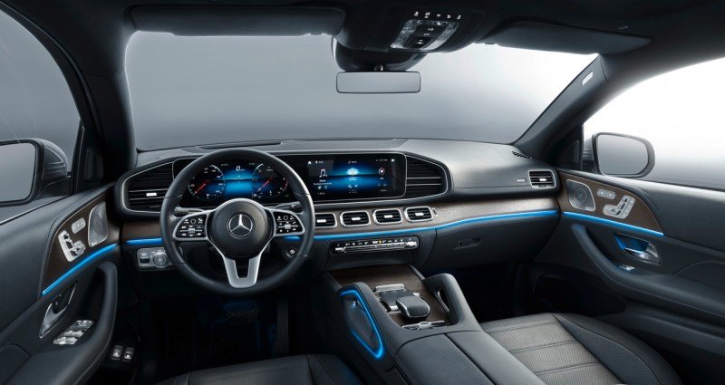 Mercedes GLE Coupe (2020) dashboard