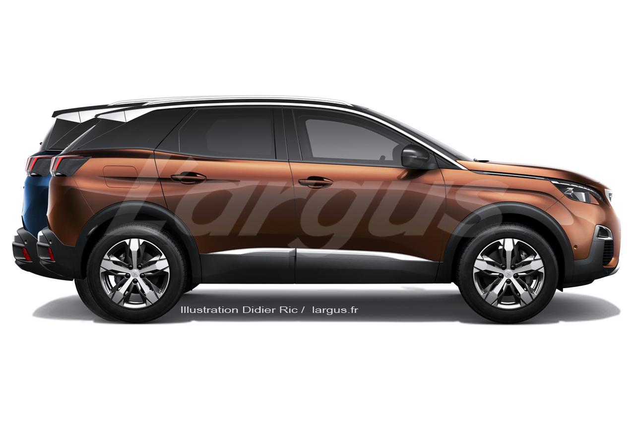 Nouveau Peugeot 5008 2017 Plus Quun 3008 7 Places