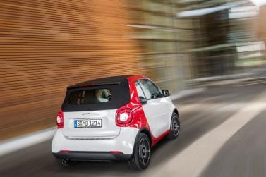 Nouvelle Smart Fortwo Cabrio (2015) : premières photos officielles