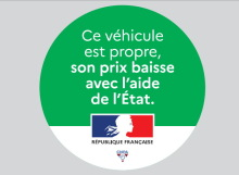 macaron véhicules propres juin 2020