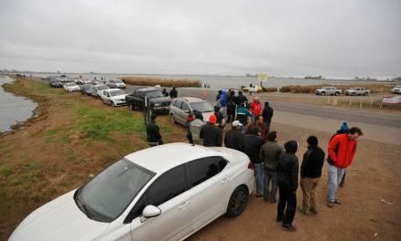 Movilización en reclamo de obras para superar la crisis hídrica