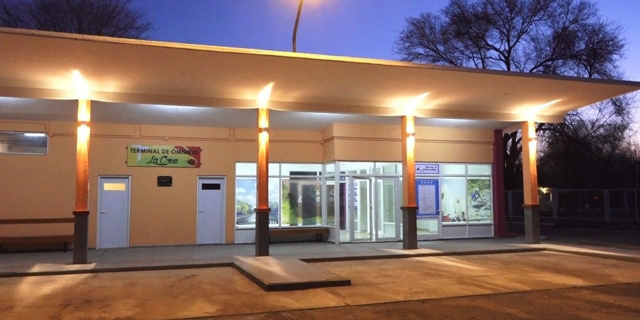 Reparación y Puesta en valor de la Terminal de ómnibus de La Cruz