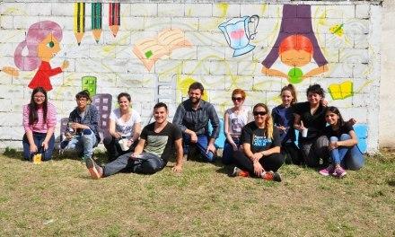 Se realizó la Jornada: «Arte Mural y Juventud»