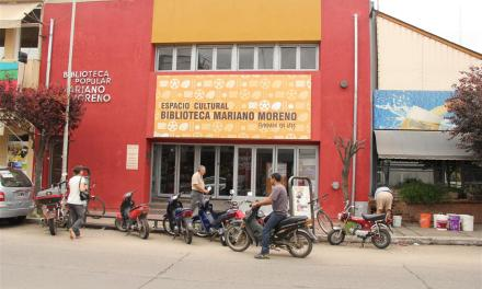 Refacción de la Biblioteca Popular Mariano Moreno