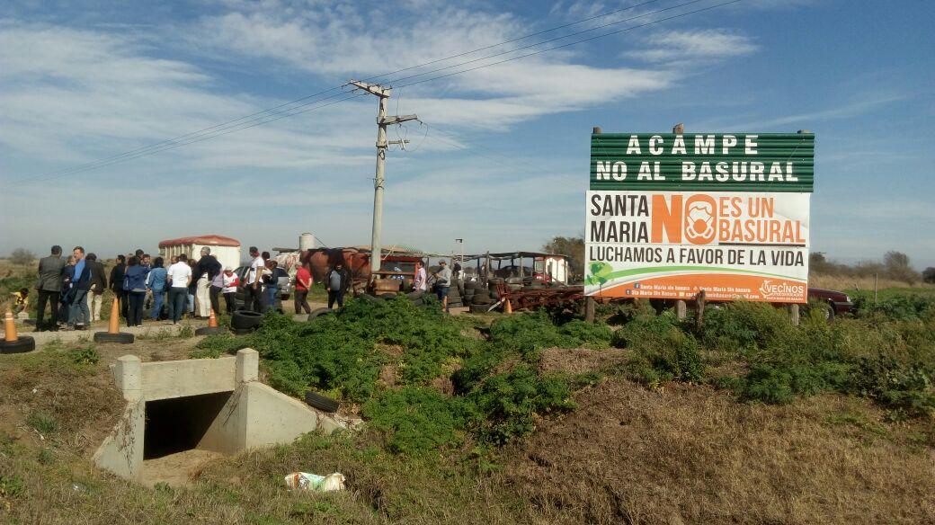 Vecinos piden frenar la instalación del basural de CORMECOR