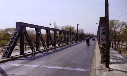 Arreglos en el Puente Carretero