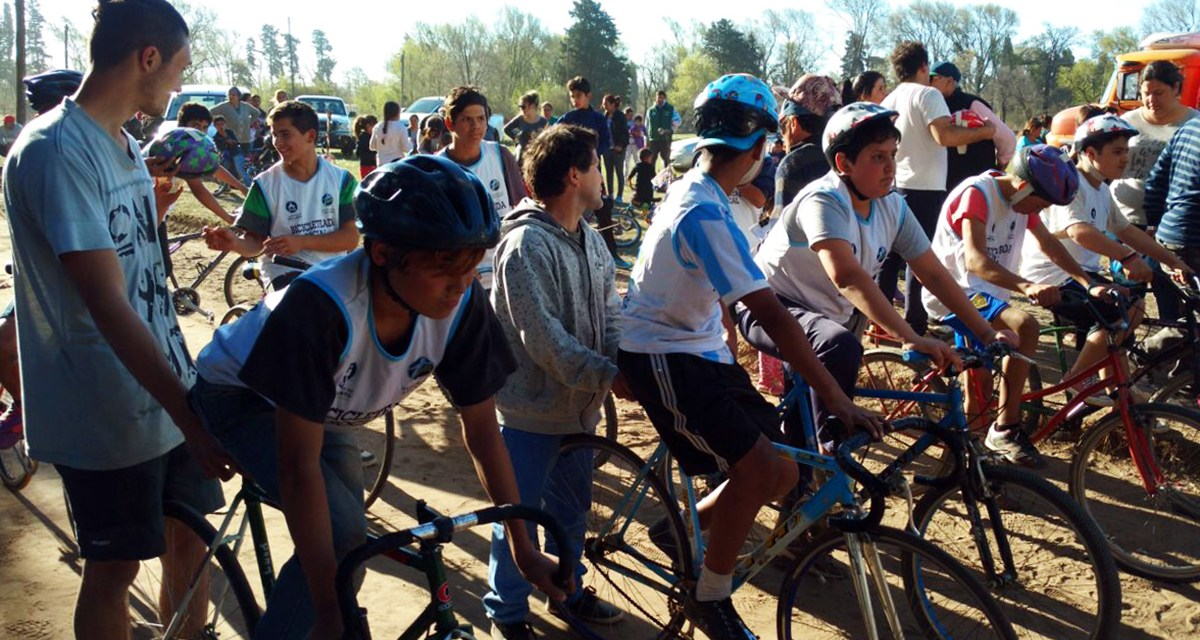 """Se realizó una nueva edición de la """"Bicicleteada Social"""""""