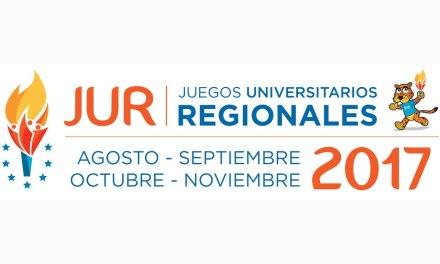 Comienzan este lunes los Juegos Universitarios Regionales-JUR 2017