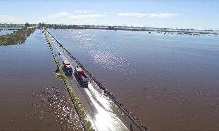 Inundaciones: Arias es el punto más crítico del sur de Córdoba
