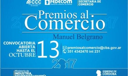 """Convocatoria a los """"Premios Día del Comercio"""" 2017"""