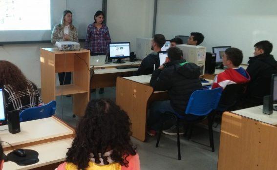 Estudiantes secundarios realizaron pasantías en Computación y Geología
