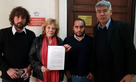 El Frente de Izquierda pidió la destitución del Fiscal Dalma