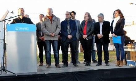 Schiaretti inauguró la planta reductora del refuerzo Malena – Río Cuarto