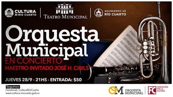 Agenda Cultural de Río Cuarto para este fin de semana