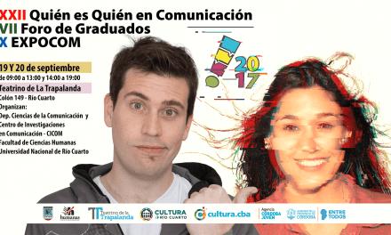 Mañana comienza la 22º Jornada Quién es quién en Comunicación