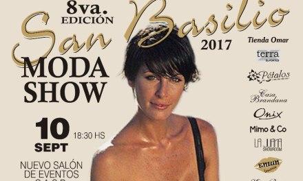 Se realizará la 8º edición del Desfile San Basilio Moda Show