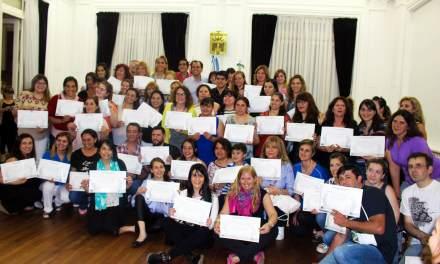 Se entregaron los certificados del Curso de Lenguaje de Señas