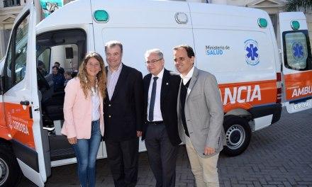 Río Cuarto sumó una nueva ambulancia y un ecógrafo de alta complejidad