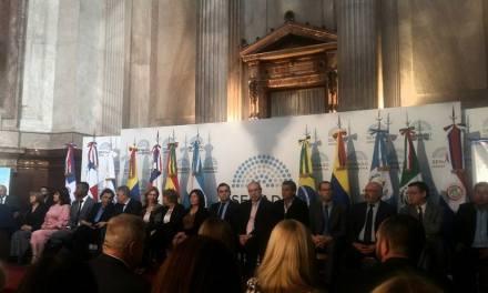 Mauricio Jaimes recibió una distinción en el Senado Nacional
