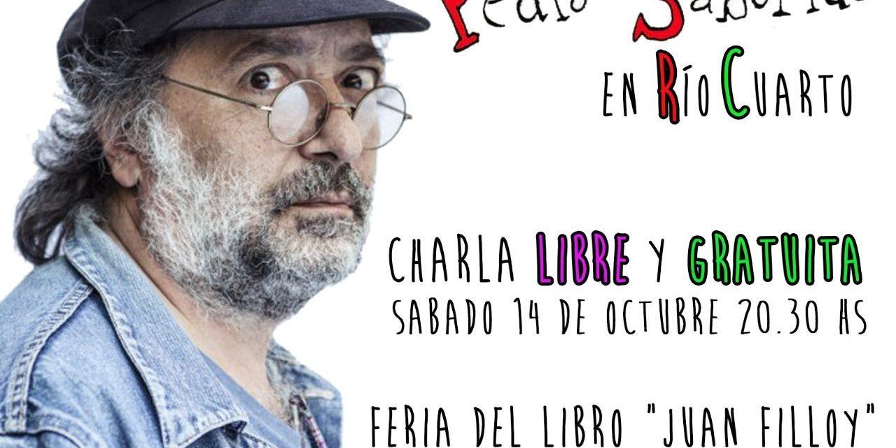Pedro Saborido en la Feria del Libro «Juan Filloy»