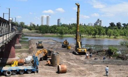 Se inició la construcción del nuevo puente en Río Cuarto