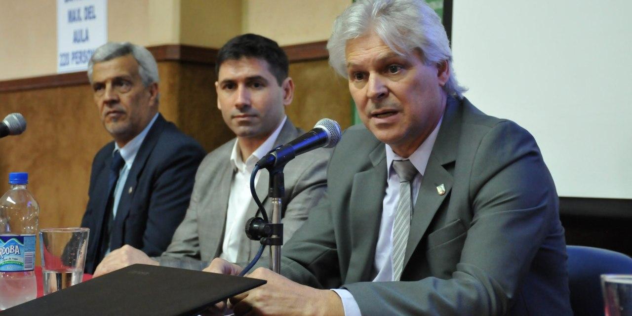 Rovere fue reelecto al frente de la Región Centro de los Consejos de Planificación