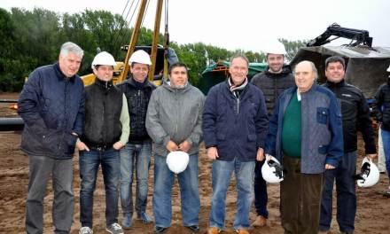 El Gobernador supervisó la obra de Gasoductos del Sistema Sur