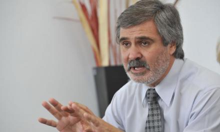El ministro de Educación fue recibido por autoridades universitarias