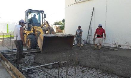 Plan Aurora: se construye un aula en la escuela José María Paz