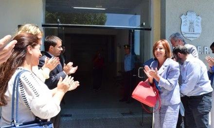 Vigo dejó habilitadas las nuevas obras de remodelación en el CEDER