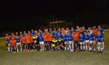 Partido Solidario con reconocidas figuras del fútbol