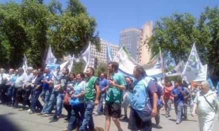 Río IV marchó en contra de la reforma previsional