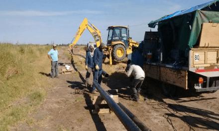 Gasoductos: empezaron las obras en el tramo Mattaldi-Nicolás Bruzzone