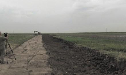 La provincia avanza con obras hídricas en Buchardo