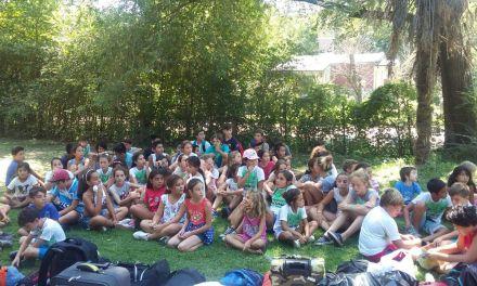 La Escuela de Verano de la UNRC participó de un campamento en Santa Rosa