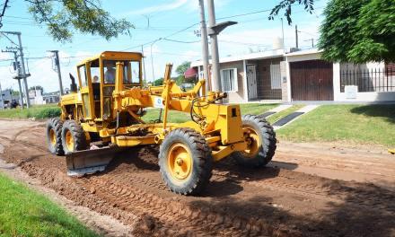 Casi 400 cuadras de calles de tierra fueron arregladas en Río Cuarto