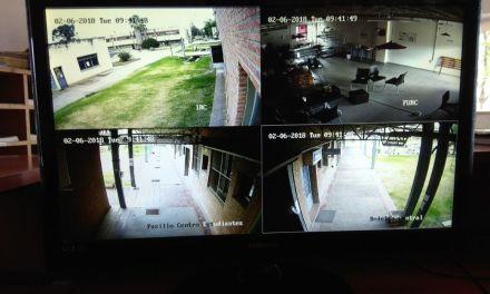 Colocaron 32 cámaras en el predio de las Residencias Estudiantiles Universitarias