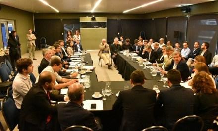 Se reunió el Gabinete Productivo de la Región Centro