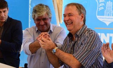 Viamonte: habilitaron obras del gasoducto