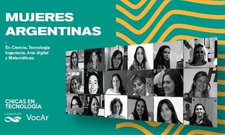 """Lanzamiento micrositio """"Mujeres Argentinas"""""""