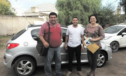 Nicolás Bruzone incorporó vehículos a su parque automotor