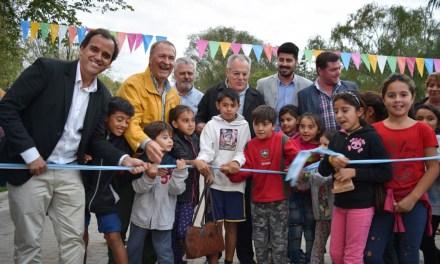 """Schiaretti inauguró el """"Parque Costanera Norte"""" en Río Cuarto"""