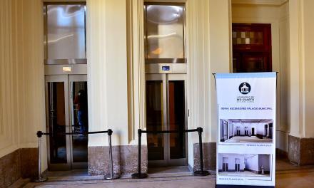 Inauguraciones en el Palacio Municipal: características de las obras y muestras
