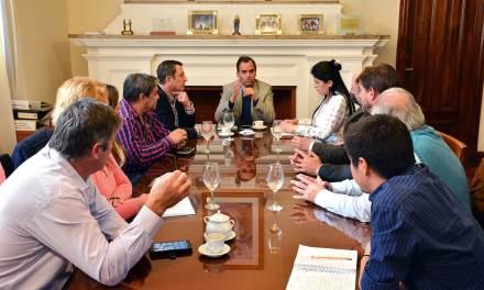 Llamosas se reunió con la Comisión Municipal de la Memoria