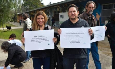 Río Cuarto: Paro de Docentes Universitarios