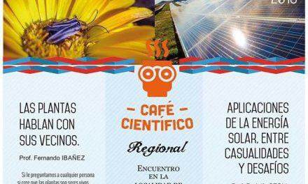 UNRC: Café Científico en la región