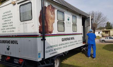 Carnerillo: llegó el Quirófano móvil del OIBCA