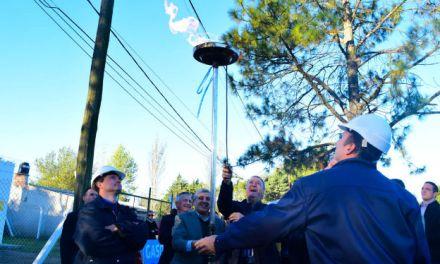 Gasoductos: habilitaron el tramo Las Higueras – Paso del Durazno