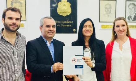 El municipio de Serrano firmó un convenio con la Universidad de Villa María