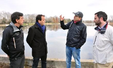 Finalizó la etapa de saneamiento del Lago Villa Dalcar